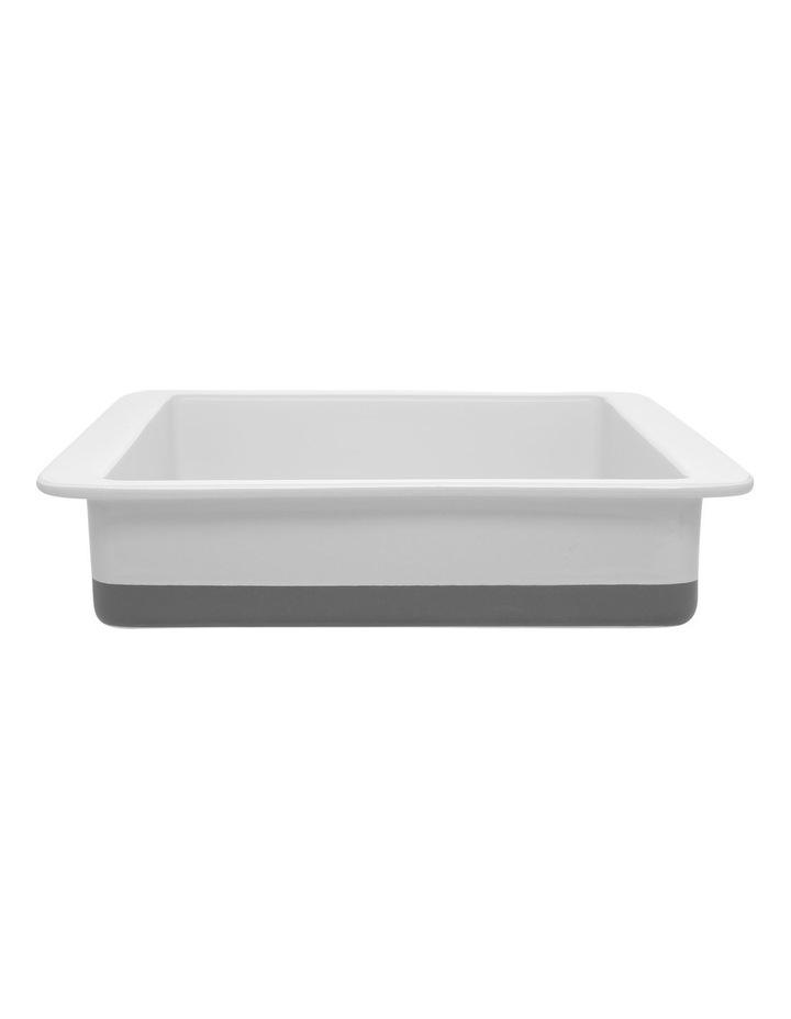 Illusion Square Baker -Grey image 1