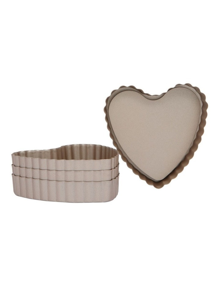 Luxe Mini Heart Tins Set Of 4 image 1