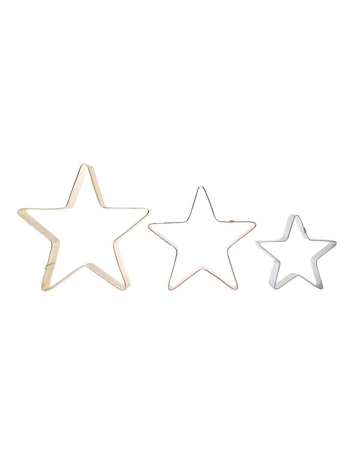 Set of 3 Christmas Cookie Cutter Star image 2