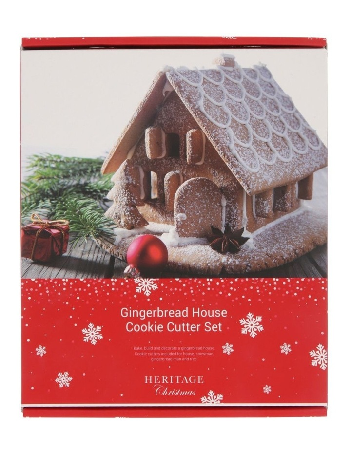 Gingerbread House Cookie Cutter Set image 1