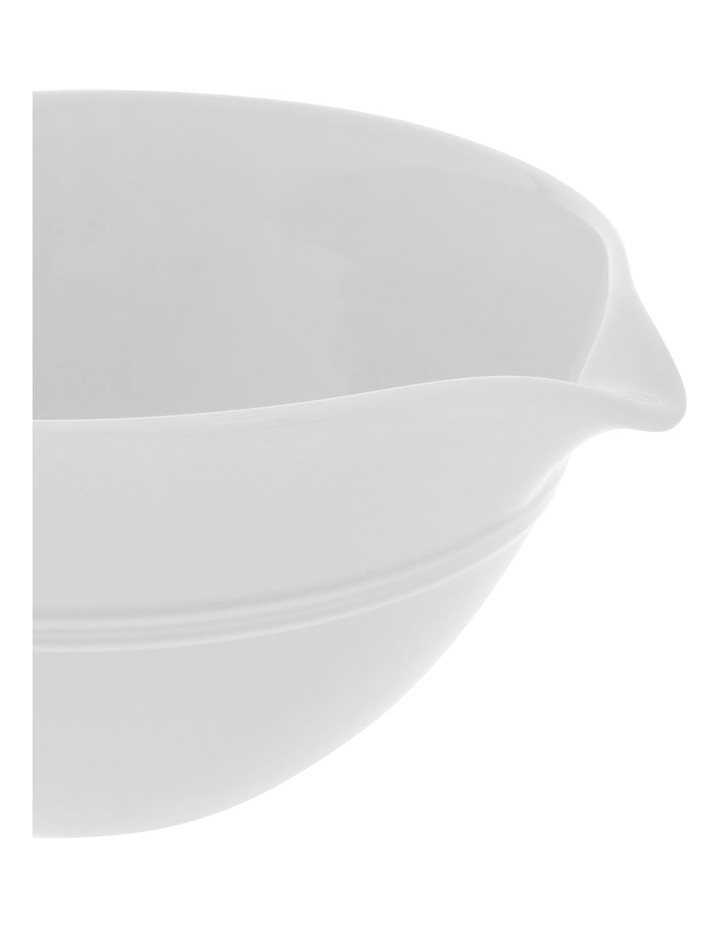 Avenue Small Mixing Bowl in White image 2