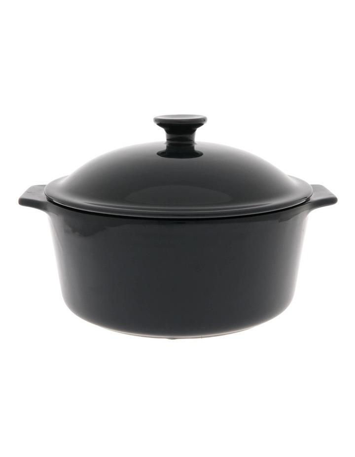 Esperance Blue Casserole Dish with Lid image 1