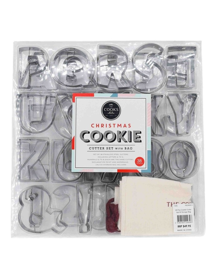 35 Pce Cookie Cutter Set With Storage Bag image 1