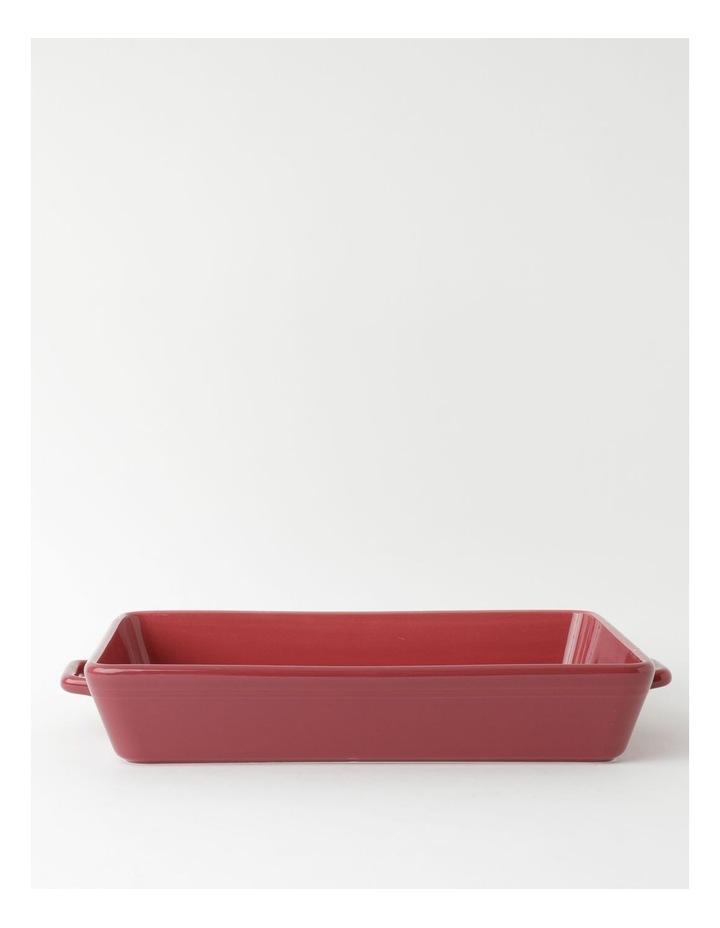 Avenue Large Rect Baker Crimson image 1