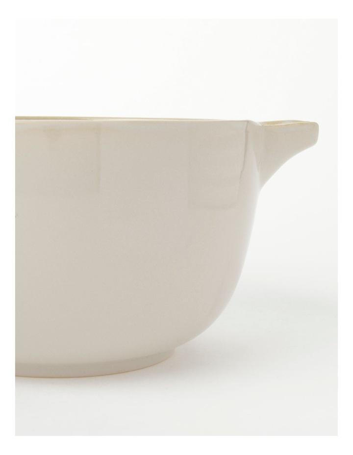 Esperance Mixing Bowl Cream 24.5cmx14cm image 2