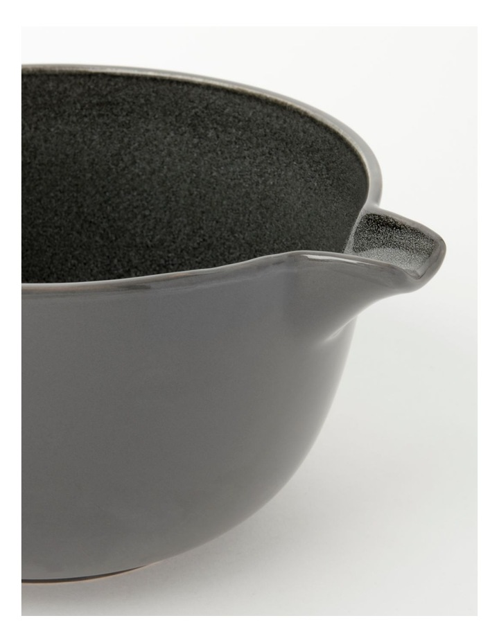 Esperance Mixing Bowl Charcoal 24.5cmx14cm image 3