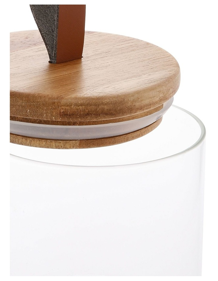 16.8cm Canister (Inc Faux Leather Strap) image 2