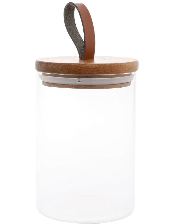 21.6cm Canister (Inc Faux Leather Strap) image 1