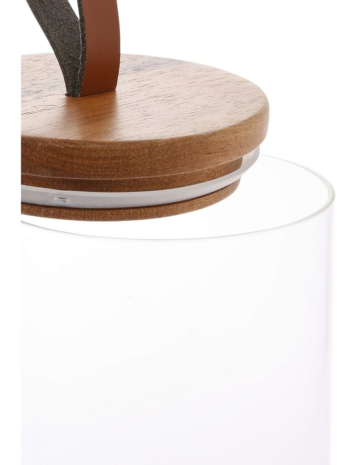 21.6cm Canister (Inc Faux Leather Strap) image 2