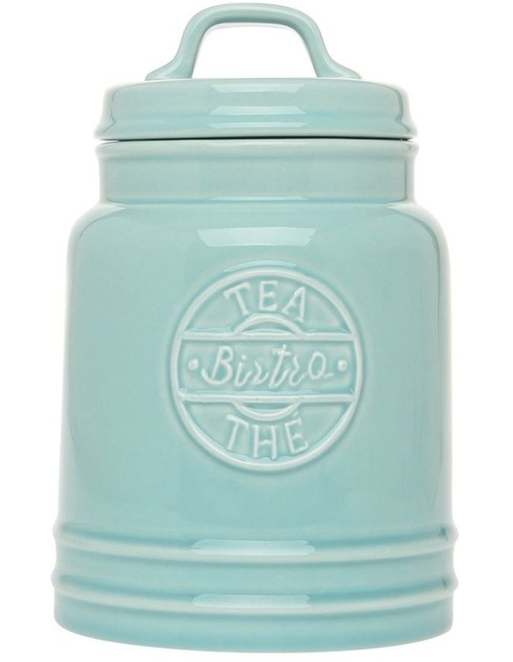 Mint Provincial Tea Canister image 1