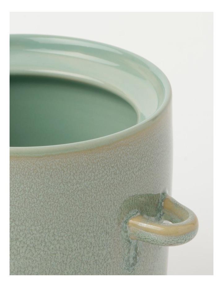 Esperance Med Storage Jar with Spoon Eucalyptus Reactive 13cm image 3