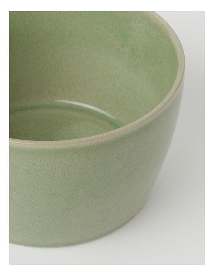 Reactive Glaze Microwave Bowl Green 8.5cm image 4