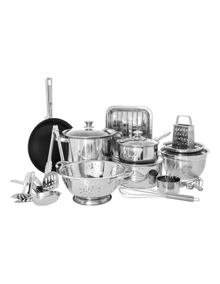 Stainless Steel 24 Piece Cookware Set image 1