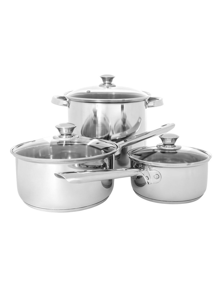 Stainless Steel 24 Piece Cookware Set image 2