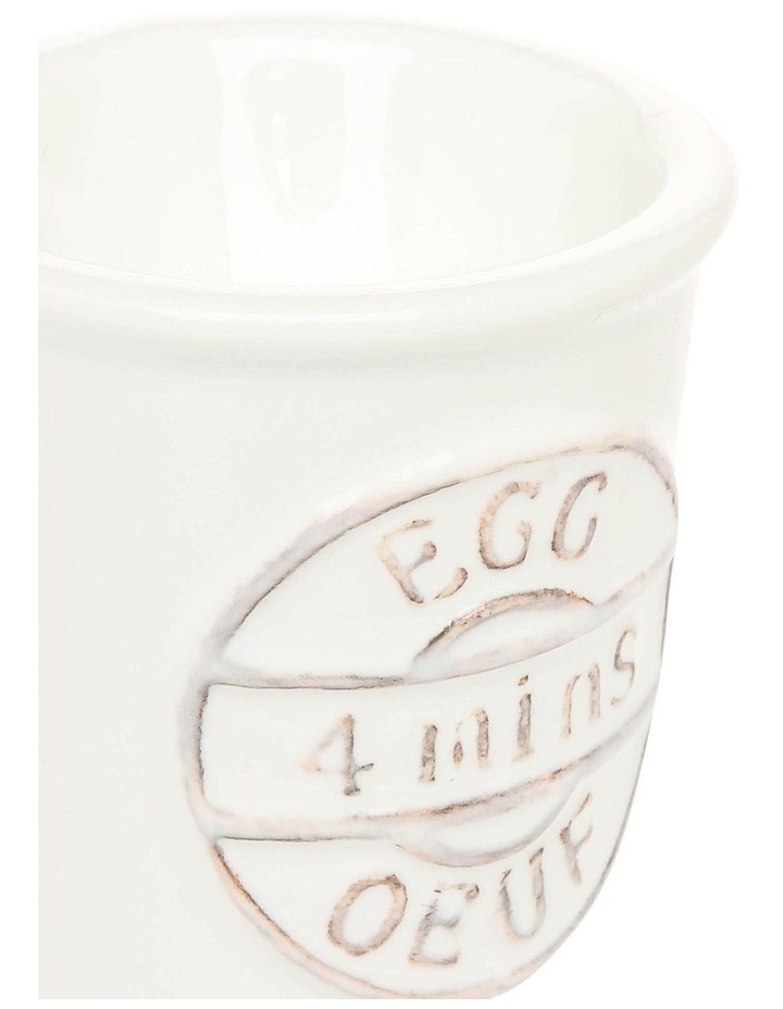 White Provincial Egg Cup image 2