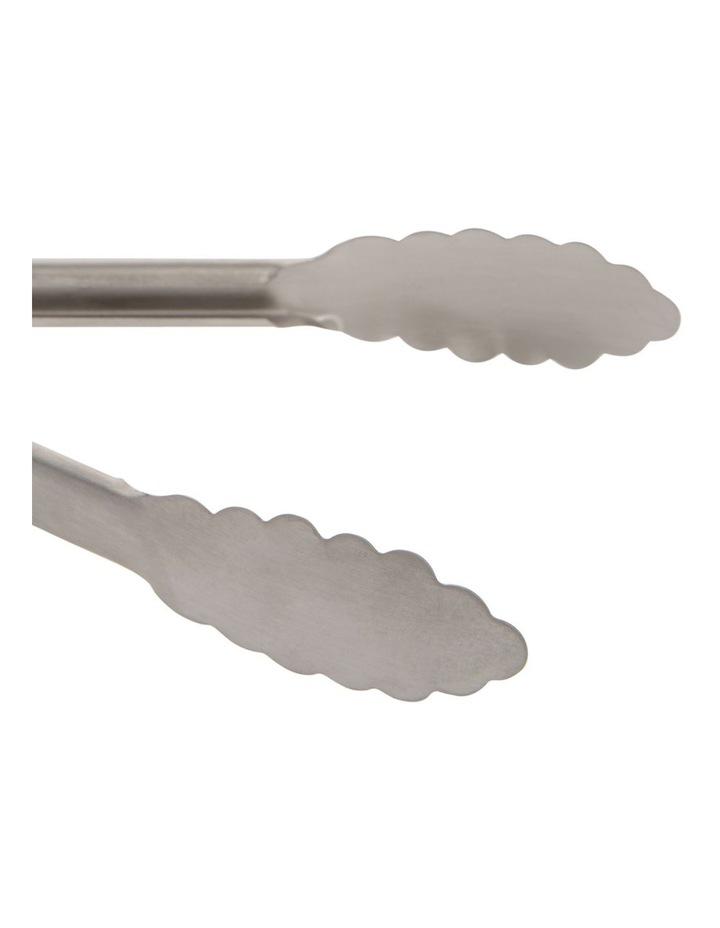 Mini Tongs Stainless Steel 17cm image 2