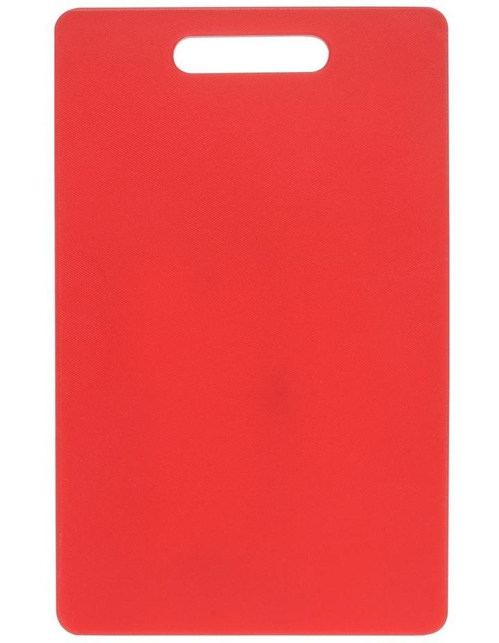 Chopping Board Medium Red 40x25cm image 1