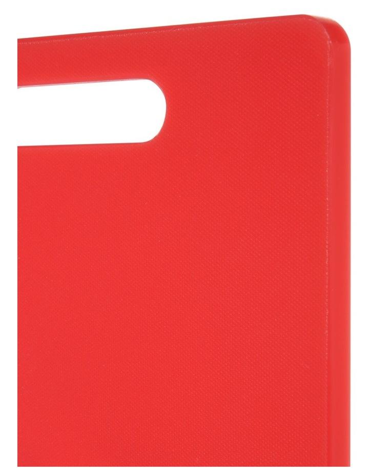 Chopping Board Medium Red 40x25cm image 2