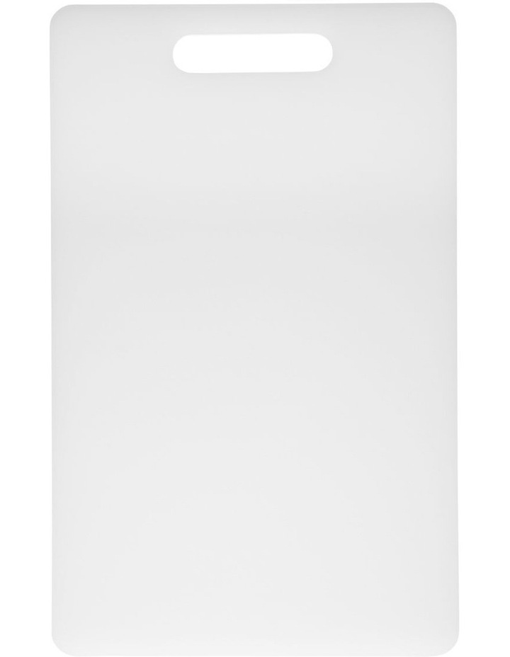 Chopping Board Medium White 40 x 25cm image 1