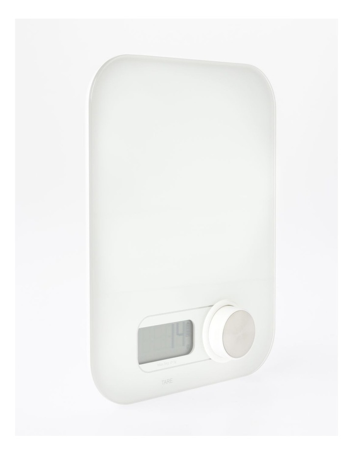 Battery Free Tempered Glass Scale White image 2