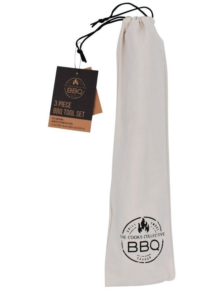 3 Pce BBQ Tool Set image 3