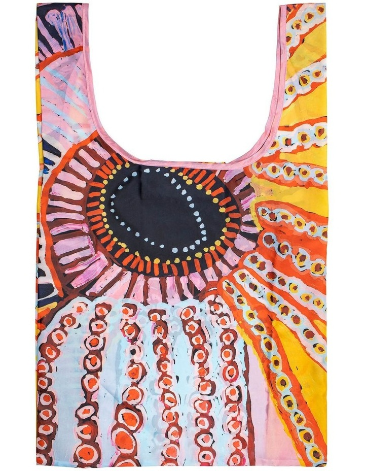 Murdie Nampijinpa Morris - Malikijarra Jukurrpa (Two Dogs Dreaming) Shopping Bag image 1