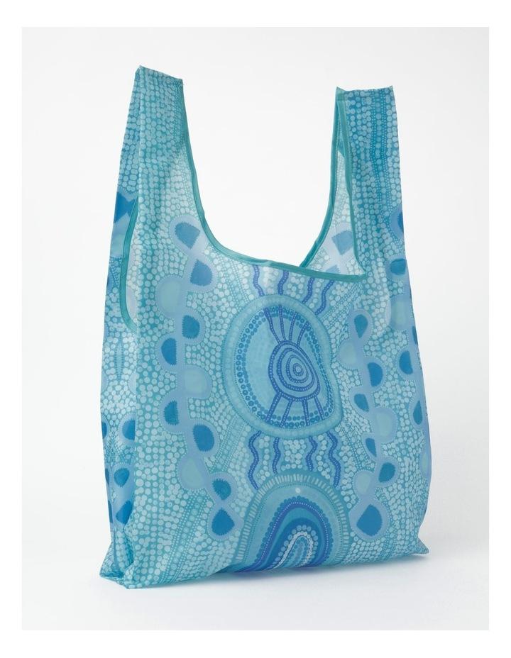 Blue Meeting Place Shopper Bag image 1