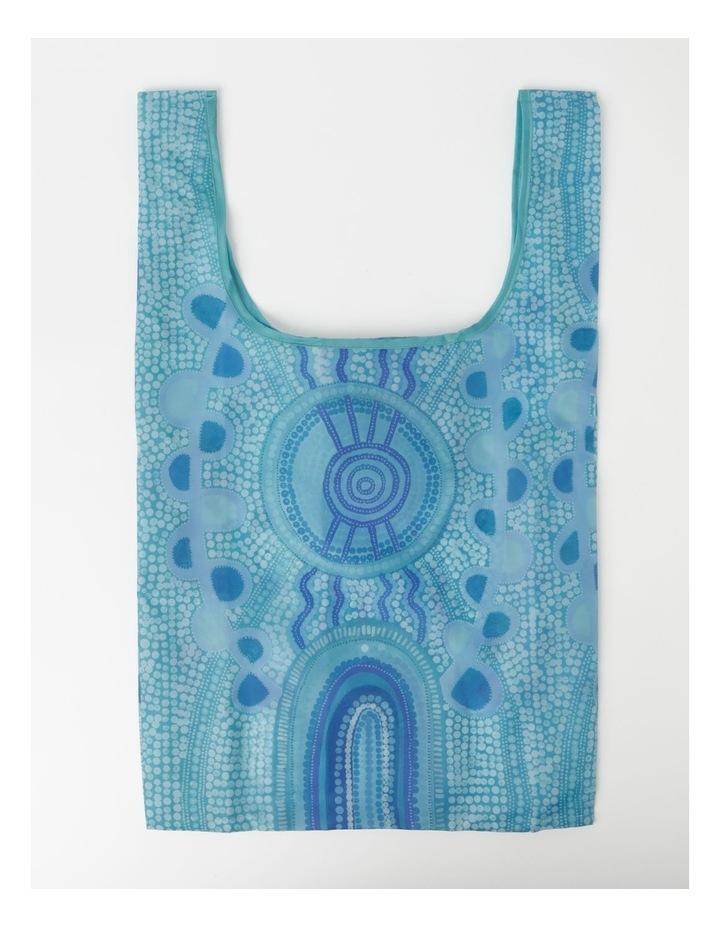 Blue Meeting Place Shopper Bag image 3