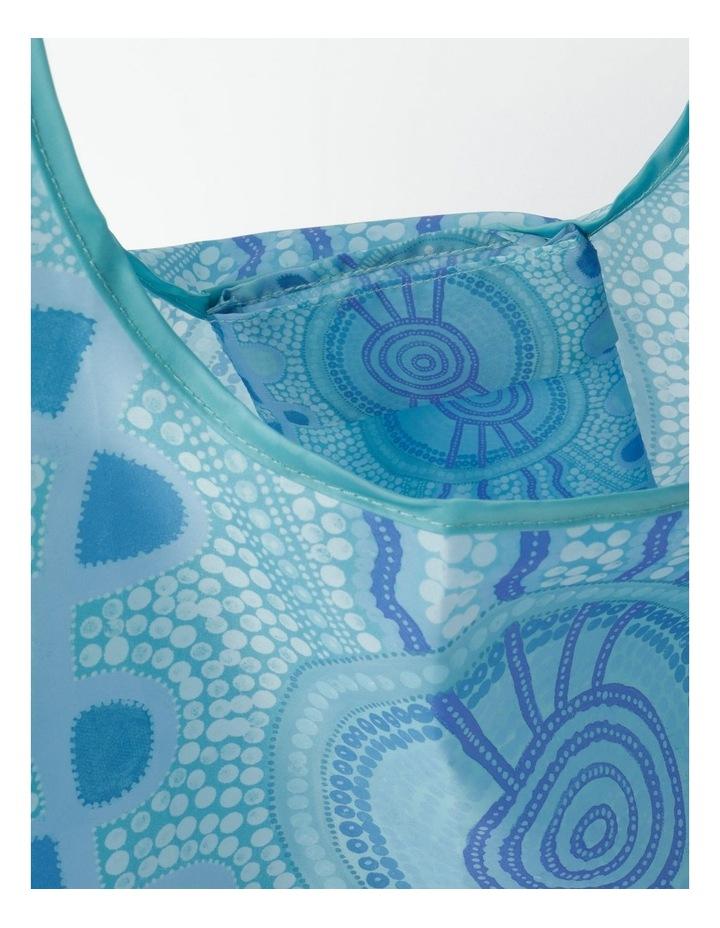 Blue Meeting Place Shopper Bag image 4