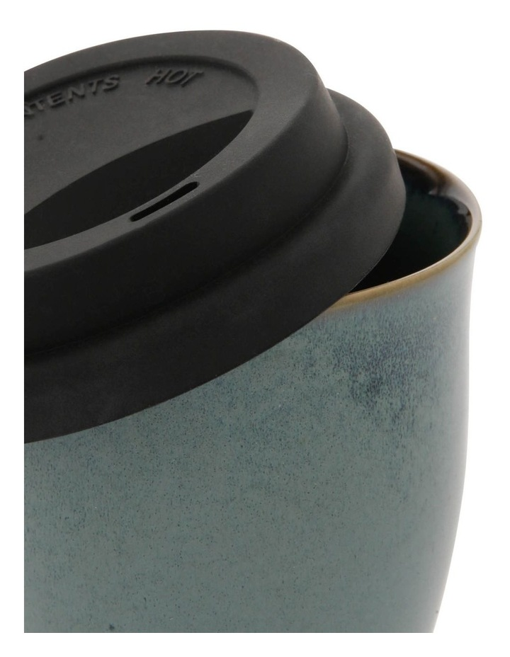 Double-Layer Travel Mug in Blue image 2