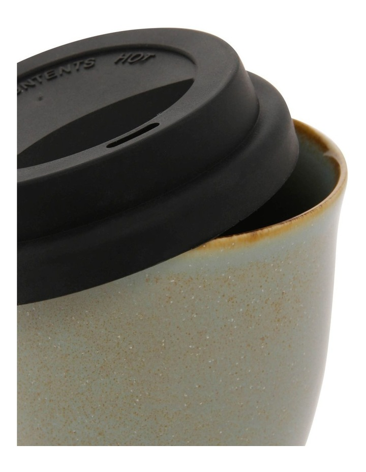 Double-Layer Travel Mug in Green image 2