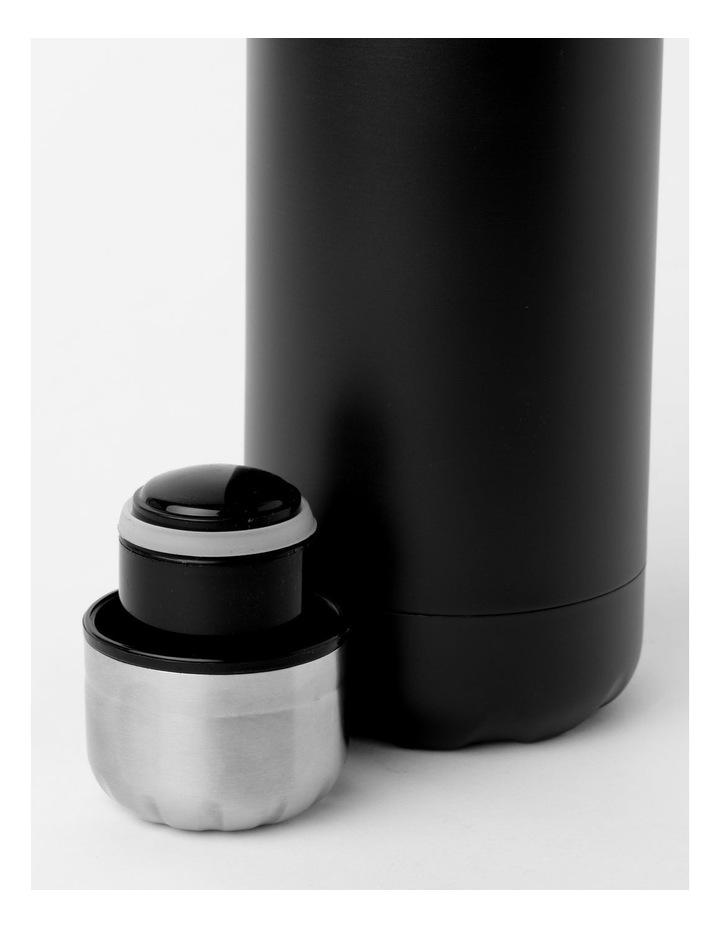 Stainless Steel Drink Bottle 500mL Black image 2