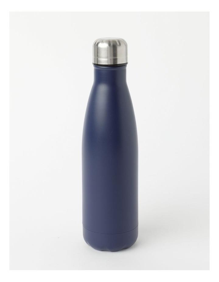 Stainless Steel Drink Bottle 500ml Navy image 1