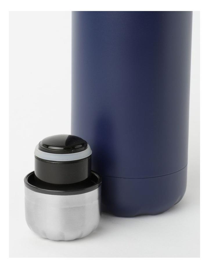 Stainless Steel Drink Bottle 500ml Navy image 2