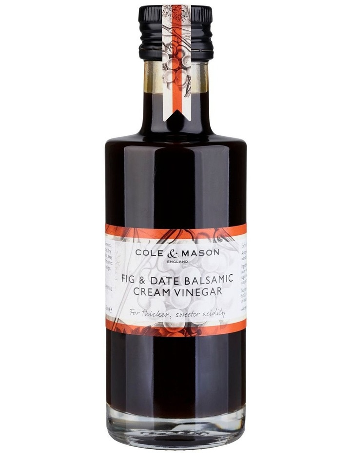 Fig & Date Balsamic Cream Vinegar image 1