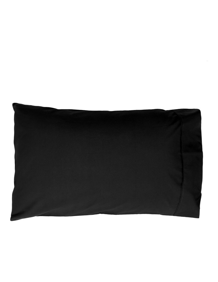 300TC Superfine Cotton Sheet Set in Black image 2