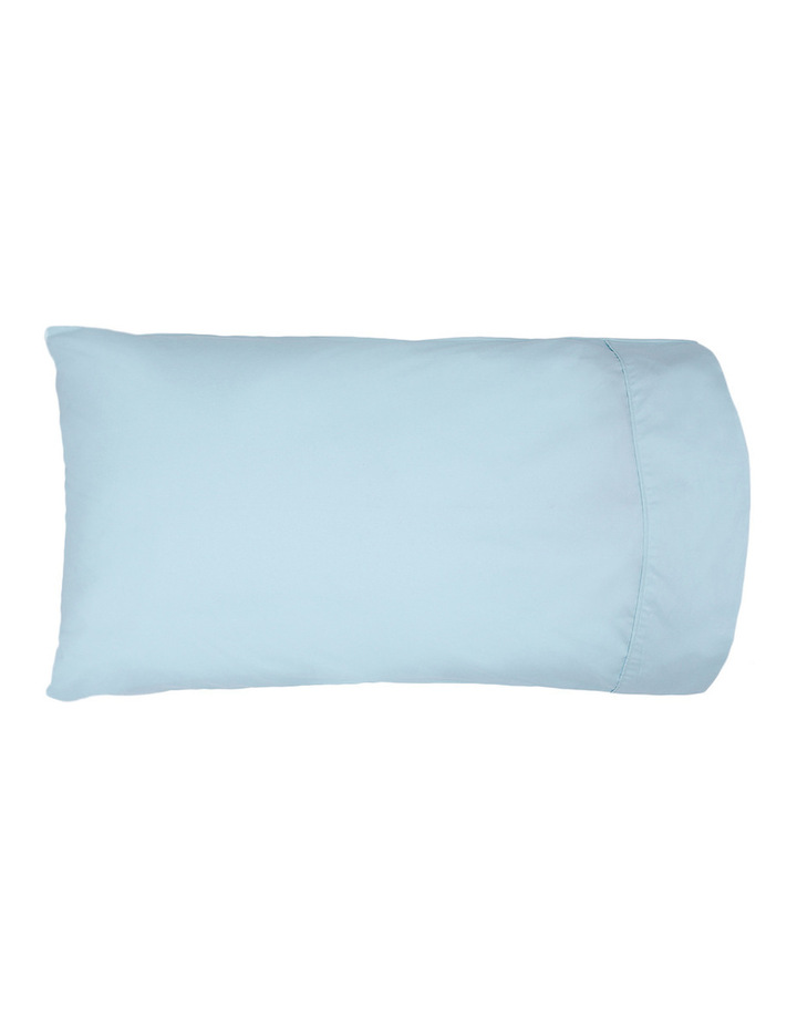 300TC Superfine Cotton Sheet Set in FadedBlue image 2