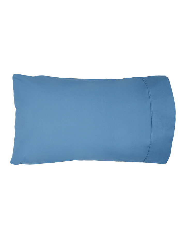 300TC Superfine Sheet Set in Faded Blue image 2