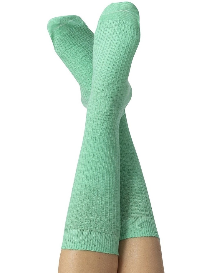 Socks Yoga Mat Green image 3