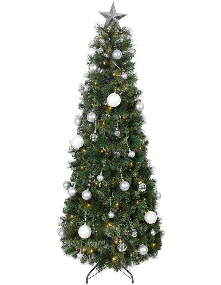 Conifer Pre-Lit Pop-Up Christmas Tree 180cm image 1