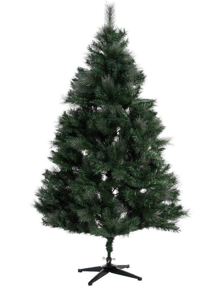 Deluxe Pine Tree With Shimmer Finish - 210Cm image 1