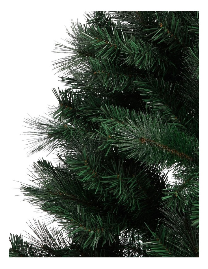 Deluxe Pine Tree With Shimmer Finish - 240Cm image 2
