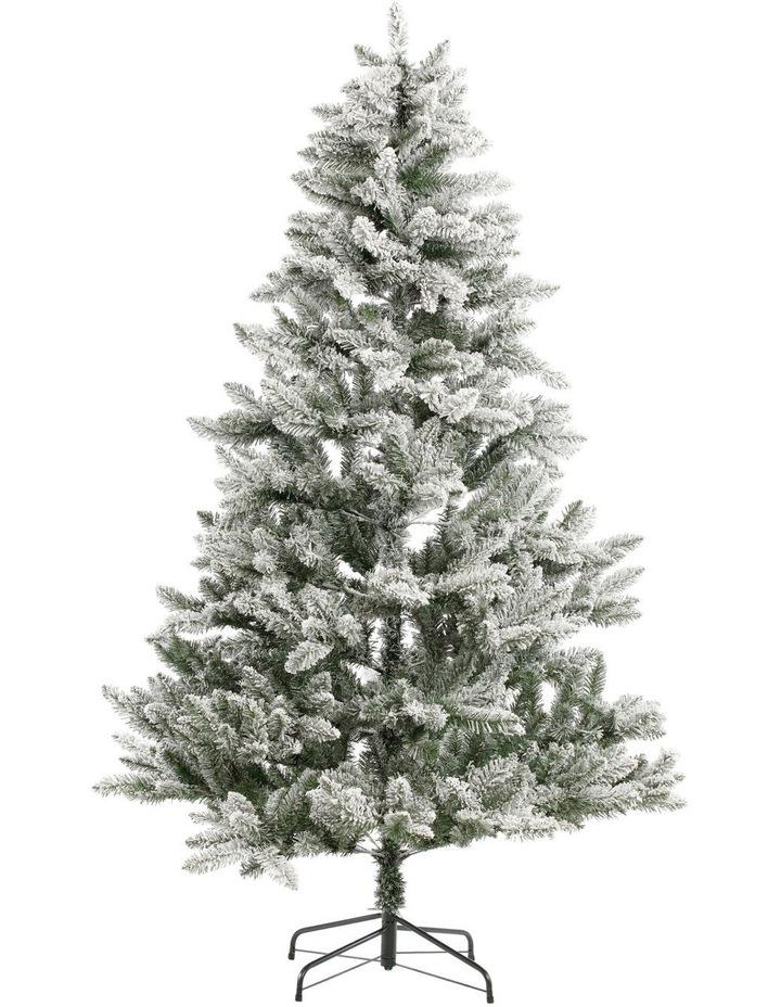 Flocked Arrow Pine Tree 240cm by Myer Giftorium