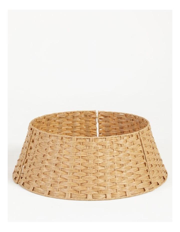 Eucalyptus Plastic Woven Round Tree Collar- Brown: 60 Cm image 1
