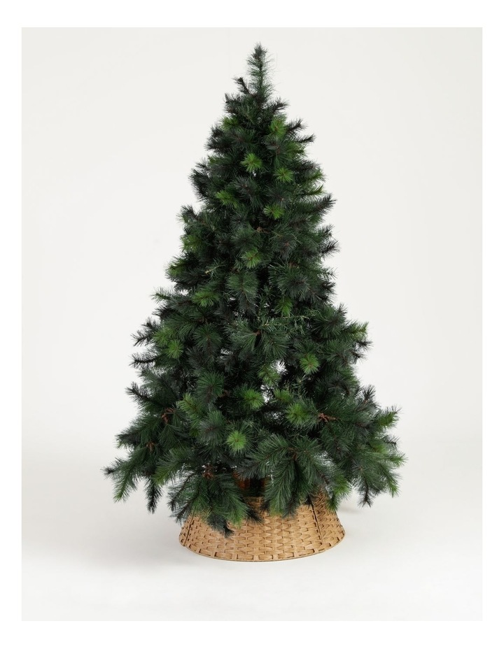 Eucalyptus Plastic Woven Round Tree Collar- Brown: 60 Cm image 3