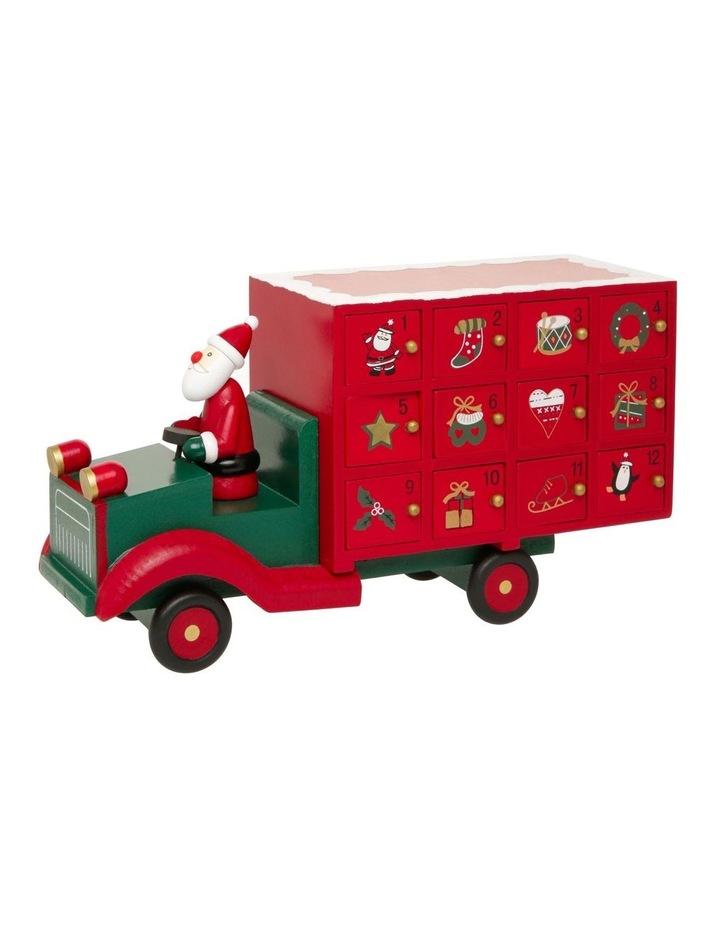 Red Christmas Truck.Myer Giftorium Heirloom Christmas Truck Advent Calendar In Red