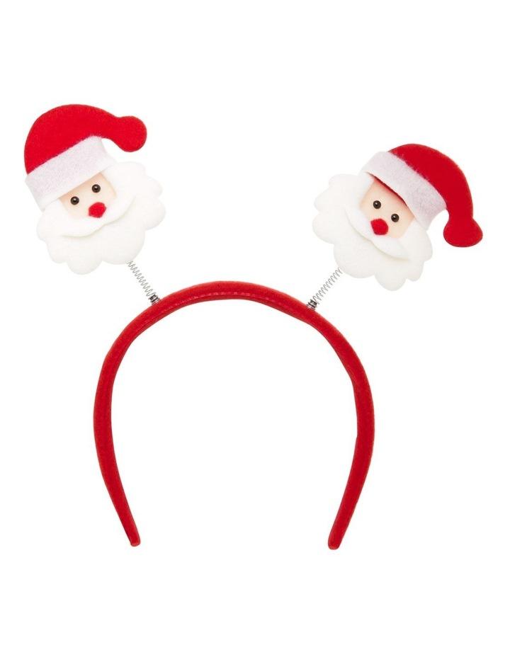 Santa Bobble-Head Headband image 1