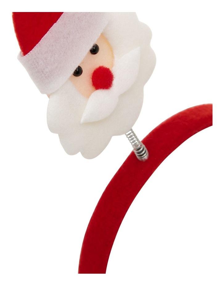 Santa Bobble-Head Headband image 2