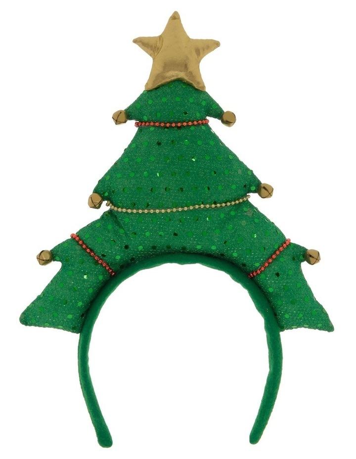 Merry & Bright Novelty Christmas Tree Headband image 1