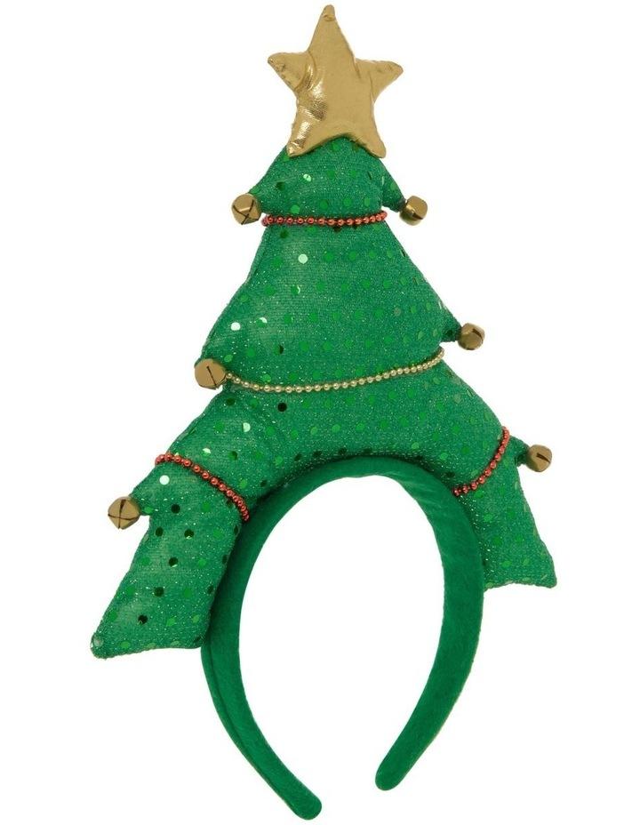Merry & Bright Novelty Christmas Tree Headband image 2